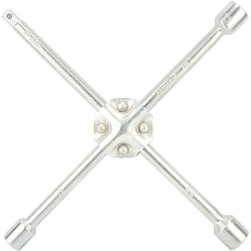 Ключ баллонный `крест` 17х19х21х22 усиленный АвтоДело 34417-AD 456руб.