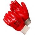 Перчатки с ПВХ обливом (красные) с манжетой Gward GSP0111R-I-GW