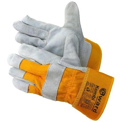 Перчатки  спилковые комбинированные Gward  XY131-GW 140.5руб.
