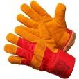 Перчатки спилковые комби. утепленные улучшеные Gward  XY147-GW