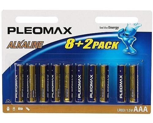 Батарейка Pleomax LR03-10BL ААА 00020-А 26руб.