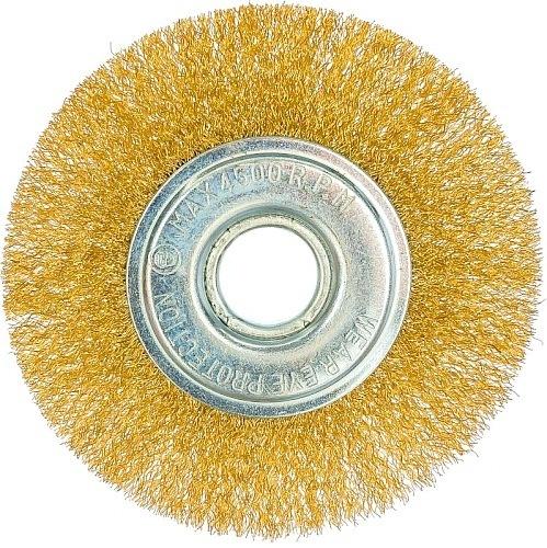 Щётка для УШМ  плоская 100 мм Bohrer 36703100-BH 141.5руб.