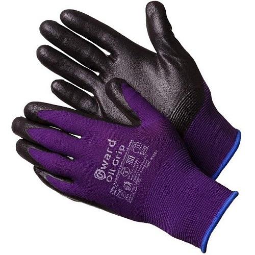 Перчатки нейлоновые со вспененным нитриловым покрытием  Gward N1007-GW 57руб.