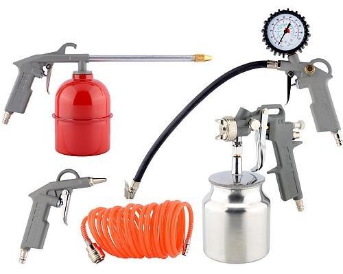 Набор пневмоинструмента  5пр. (нижний бачок) Техник  450452-ТЕ 2507руб.
