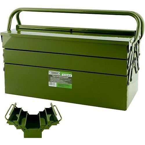 Ящик металлический раскладной (5 секций, 450мм) Техник 440450-ТЕ 1227руб.