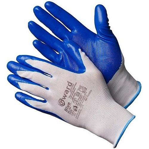 Перчатки нейлоновые с нитриловым покрытием Gward N2002B-GW 37руб.