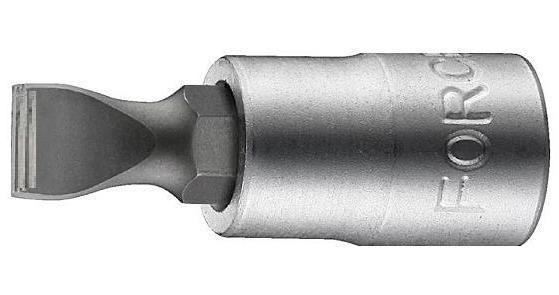 Головка 1/4` со вставкой шлиц 4мм Force 3233204-F 38руб.