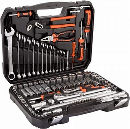 Набор инструмента  1/4`-1/2` 123пр. АвтоДело `Professional` 39824-AD 10385руб.