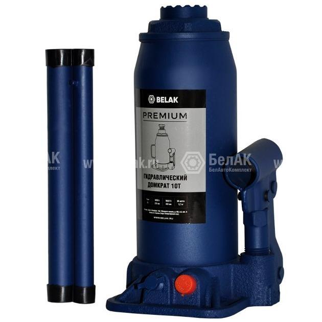 Домкрат гидр. 10т. (230-460мм) 2 клапана PREMIUM БелАК 30016-БАК 2318руб.
