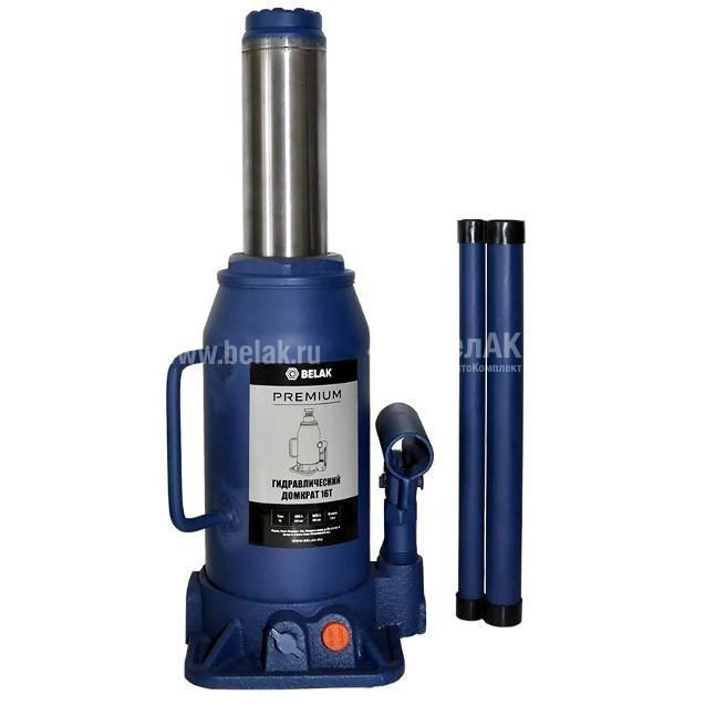 Домкрат гидр. 16т. (230-460мм) 2 клапана PREMIUM БелАК 30019-БАК 3075руб.