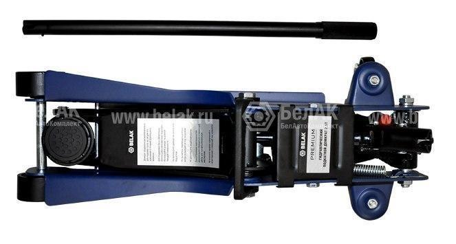 Домкрат гидр. подкатной  2,5т. (85-380мм) PREMIUM БелАК 30153-БАК 4518руб.