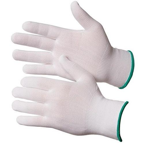 Перчатки нейлоновые без покрытия (белые) Gward NP1001бел 22руб.