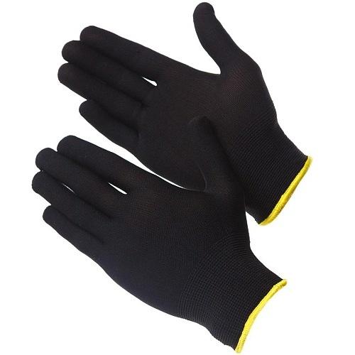 Перчатки нейлоновые без покрытия (черные) Gward NP1001черн 22руб.