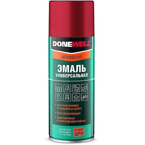 Краска-спрей черная матовая 520 мл DONEWELL 1102-DW 157руб.
