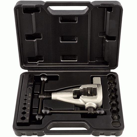 Набор для  развальцовки трубок (двойной конус) 4,75-10,0мм 10пр. АвтоДело 40435-AD 4043руб.