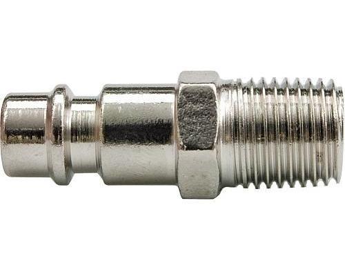 Пневмопереходник быстросъём `папа` - `папа` 1/4` Vorel 81387-V 50руб.
